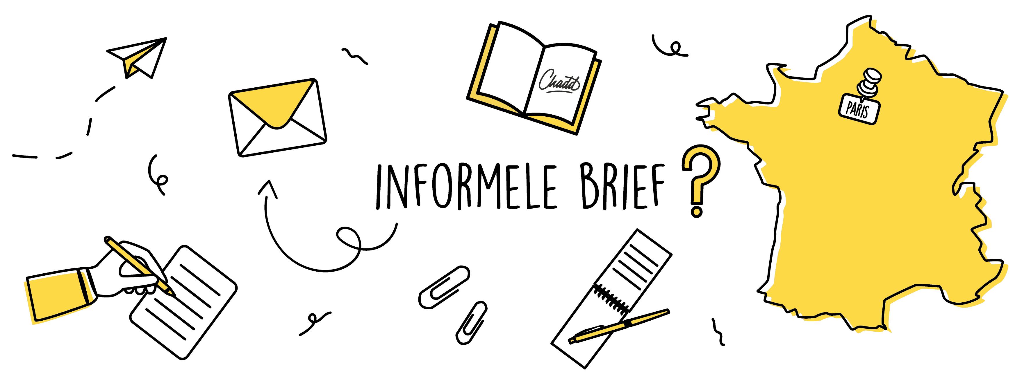 Informele brief in het Frans