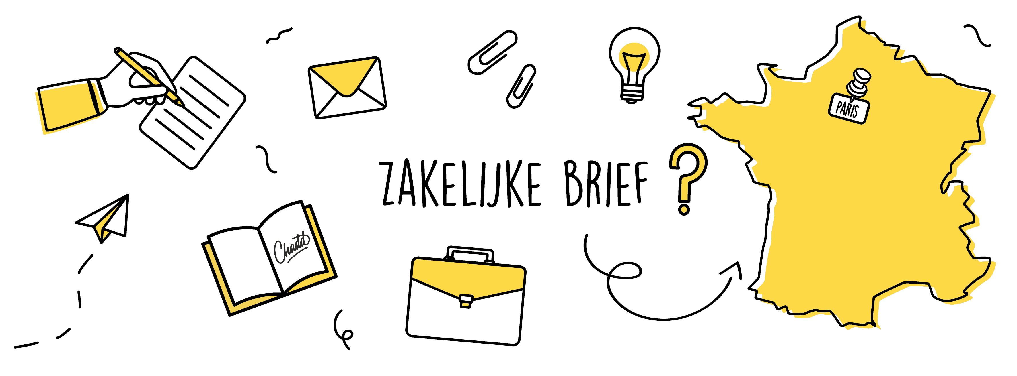 Zakelijke brief in het Frans