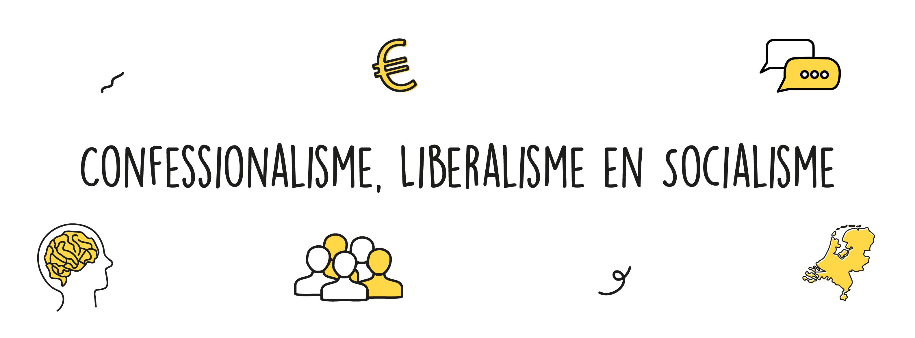 Confessionalisme, liberalisme en socialisme