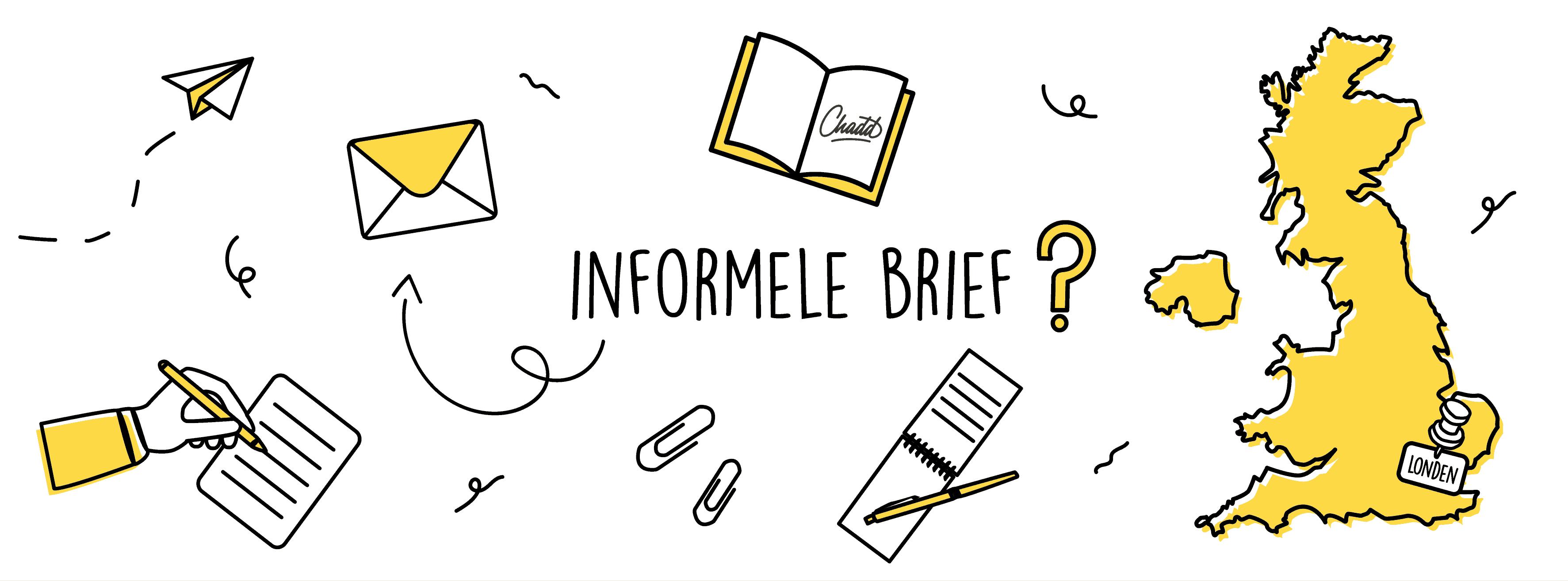 Informele brief Engels