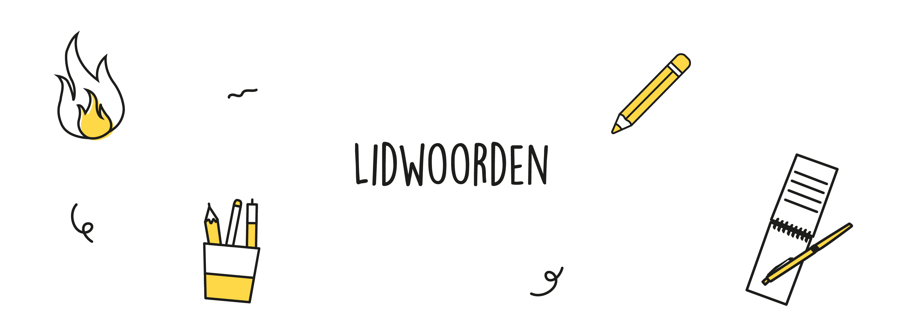 Lidwoorden