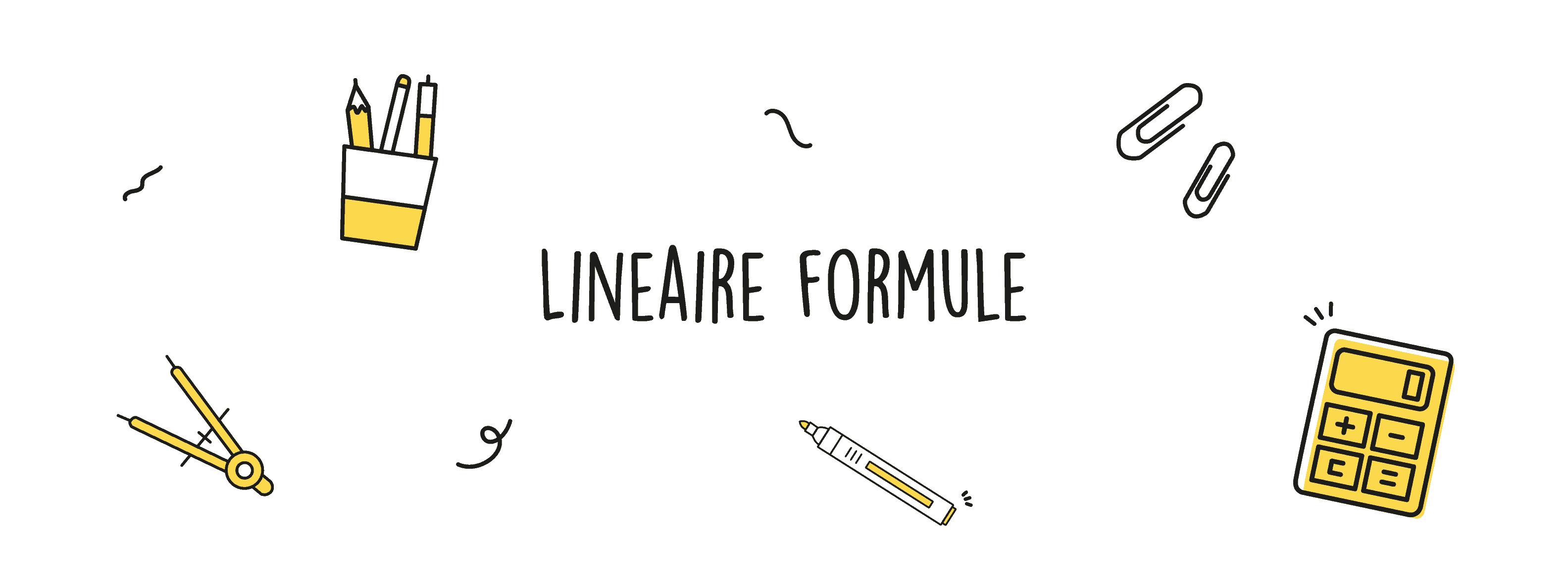 Lineaire formule