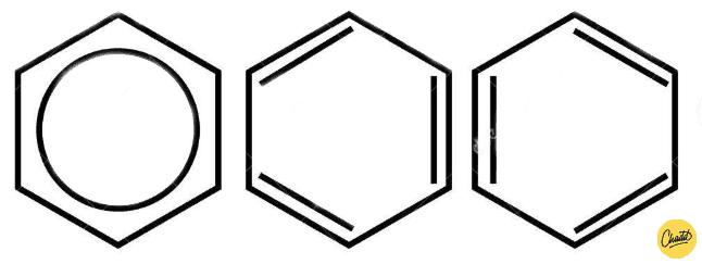 verschillende notaties van benzeen