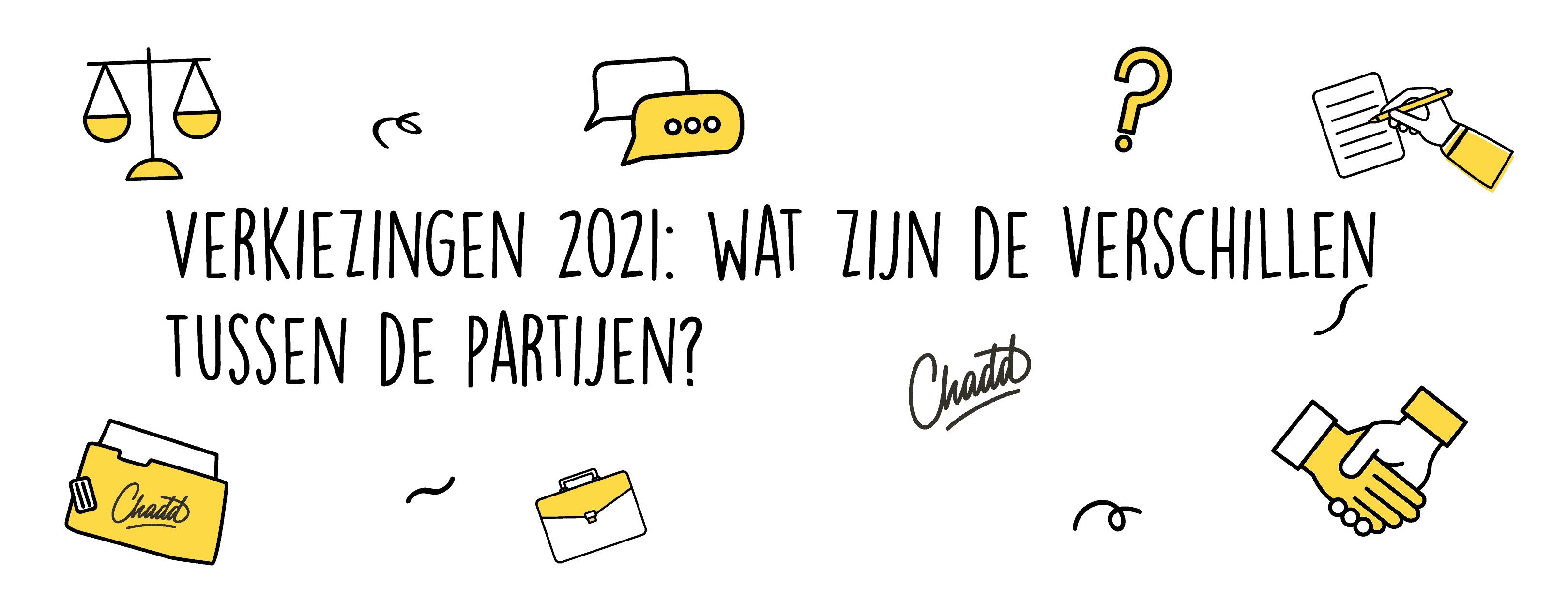 Verkiezingen 2021 wat zijn de verschillen tussen de partijen-03